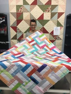 Basic Baby Quilt  #quilting #spreadthelove #ruler #newstuff
