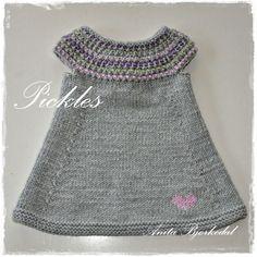 Anitas kreative side: Pickles kjole i merino extra fine
