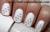 50pc Horse Tracks Horse Shoes Tracks Nail Decals Nail Art Nail Stickers Best Price NC805