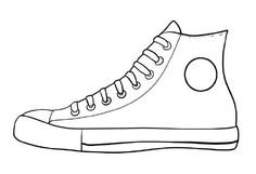 Free Printable Shoe Coloring Pages pete the cat white shoes coloring page free printable coloring 1024 X 699 pixels Pete The Cat Shoes, Pete The Cats, Shoe Template, Cat Activity, Cat Coloring Page, Shoe Crafts, Sneaker Art, Shoe Pattern, School Shoes