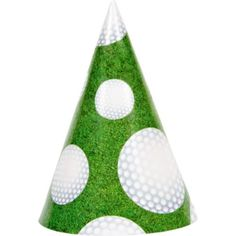 Golf Party Hats 8ct - Party City