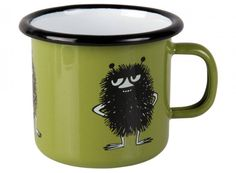 Stinky mug 3,7 dl green - The Official Moomin Shop  - 1