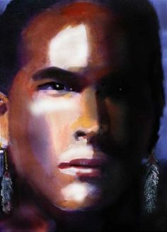 'The Last of the Mohicans' Uncas fan art<<<amazing Native American Models, Native American Warrior, Native American Images, Native American Indians, Native Americans, Eric Schweig, Michael Greyeyes, Unbelievable Pictures, Adam Beach