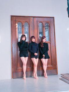 Hina HIGUCHI, Yuri SAITO, Minami HOSHINO