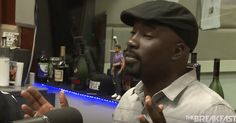 """During a Sept. 30 interview with """"The Breakfast Club"""" radio show, """"Luke Cage"""" actor Michael Colter talks about his wife and Black heroes. In the clip, host Luke Cage Actor, The Breakfast Club Radio, Interesting Stories, White Women, Interview, Fans, Actors, Woman, Black"""