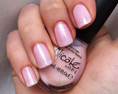 I Love it! A sheer pink color perfect for Valentines Day ♥