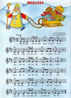 Saint Nicholas, Teaching Music, Kids Songs, Music Education, Winter Time, Holidays And Events, Christmas Time, Sheet Music, Diy And Crafts