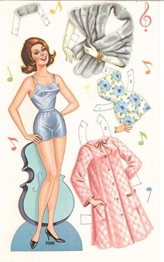 Auctiva Image Hosting* 1500 free paper dolls for small Christmas gits and DIY for Pinterest pals The International Paper Doll Society Arielle Gabriel artist ArtrA Linked In QuanYin5 *