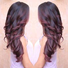 Colored Curly Hair, Hair Highlights, Highlights 2017, Peekaboo Highlights, Ombre Hair, Blonde Hair, Men's Hair, Gorgeous Hair, Hair Looks