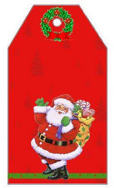 Imprimibles de Santa Claus 4. | Ideas y material gratis para fiestas y celebraciones Oh My Fiesta!
