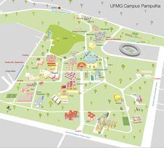 Mapa UFMG