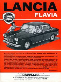 Lancia Flavia - adv (1962)