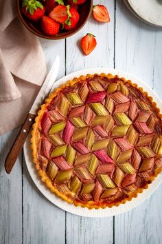 Tarte à la rhubarbe – Recette – Gourmandiseries We believe tattooing can be quite a method that has been used … Easy Cooking, Cooking Time, Cooking Recipes, Dessert Platter, Rhubarb Recipes, Bread Cake, Sugar Cravings, Food Inspiration, Sweet Recipes