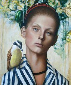 Quitupí´s secret - Oil on Canvas 50x60Cm.