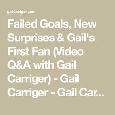 Failed Goals, New Surprises & Gail's First Fan (Video Q&A with Gail Carriger) - Gail Carriger - Gail Carriger