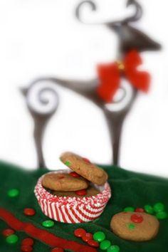 Gluten-Free Christmas M&M cookies www.bestofthislife.com #gfchristmascookies