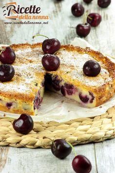 Clafoutis alle ciliegie ricetta e foto