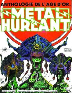 Cover for Métal Hurlant (Les Humanoïdes Associés, 1975 series) #57 bis