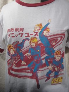 Sonic Youth T !! : $58.00    by Hysteric Gramour  at About Glamour - NYC