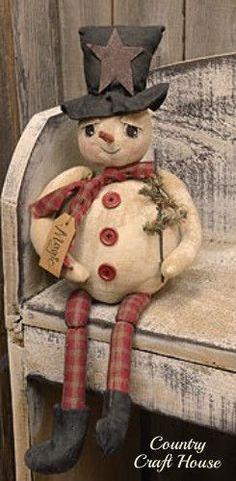 Magic the primitive snowman