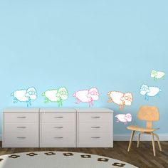 Sheep+Wall+Sticker+Decal++Sheep++Wall+Sticker+by+MyStickersDesigns,+$82.00