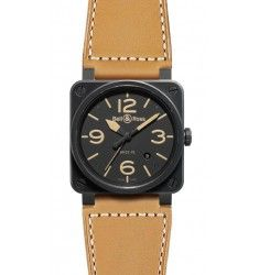 Bell & Ross Automatic 42mm Mens Watch BR 03-92 HERITAGE