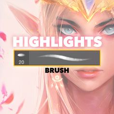 Here's the brush that came with the Zelda Episode! Paint Tool Sai, Digital Painting Tutorials, Digital Art Tutorial, Clip Studio Paint Brushes, Computer Drawing, Highlighter Brush, Illustration Techniques, Photoshop Illustrator, Tutorials