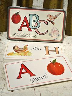 Alphabet Cards- English