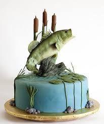 Saltwater fishing grooms cake - Google Search