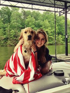 Summer isn't complete without boating days with the family followed by a southern BBQ and country music