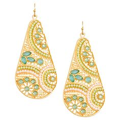 Paisley Like Carolina Earrings