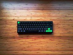 Post with 6155 views. [Photo] Raindrops in a bamboo forest Pc Setup, Desk Setup, Room Setup, Gaming Setup, Learn Robotics, Keyboard Warrior, Key Caps, Studio Setup, Gadgets And Gizmos