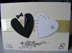 Ръчно изработени сватбени покани. Цената включва плик. Допълнително се заплаща за текста на поканата. Могат да бъдат изработено в цветови комбинации по важе желание. Чудесно се комбинират с нашите порадъчета (красиви ръчно изработени и украсени сладки) за вашия сватбен ден! Повече снимки на нещата, които правим, може да видите на сайта ни.