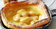 外はカリカリ、中はもっちり。新感覚パンケーキです。ベイクパンごとオーブンにインするだけなので、簡単に作れます。