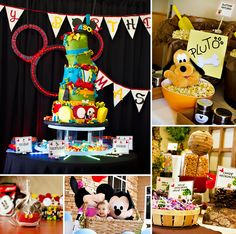 An Incredible Mickey Mouse First Birthday Party by Kristen Carter Photography on the blog! #MickeyMouse http://hwtm.me/13YagxY