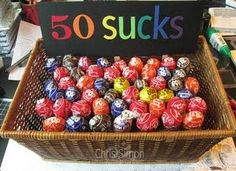 What a fun idea for a 50th birthday gift!