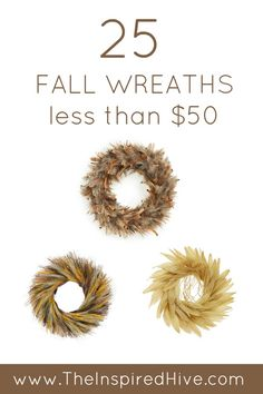 25 affordable fall w
