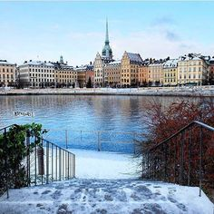 Gamla stan ❤️! Wonderful capture by @camilla_2.0 🙌 #stockholm_insta