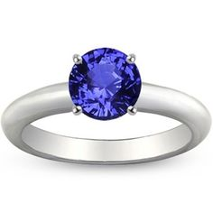 Sapphire 3mm Comfort Fit Ring