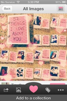 Making this for my 1 year anniversary with my boyfriend❤