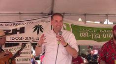 2016 Global Cannabis March: Rep. Tobias Read (D) - Oregon State Treasure...