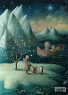 Scraptacular:  Stephen Mackey Eskimos ♥ Рождественские Иллюстрации, Причудливое Искусство, Иллюстраторы, Фэнтези Рисунки, Сказки, Жили Были, Пингвины, Спокойной Ночи