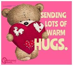 Love & hug Quotes : QUOTATION – Image : Quotes Of the day – Description From my heart to yours! Sharing is Caring – Don't forget to share this quote ! Hugs And Kisses Quotes, Hug Quotes, Kissing Quotes, Hugs And Cuddles, Good Morning Hug, Cute Good Morning Quotes, Hug Pictures, Teddy Pictures, Hug Images