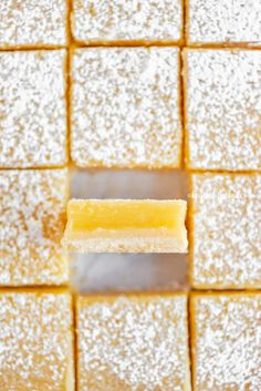 These Super Easy Lemon Bars combine a tart and tangy lemon curd filling with a buttery, shortbread crust. Made in an 8 x 8 baking pan, they make the perfect citrus-y treat to enjoy with family, friends, or coworkers!   BeyondtheButter.com   #lemons #lemonbars #beyondthebutter #lemondesserts Lemon Dessert Recipes, Lemon Recipes, Easy Desserts, Baking Recipes, Delicious Desserts, Baking Pan, Cake Recipes, Yummy Food, Lemon Curd Filling