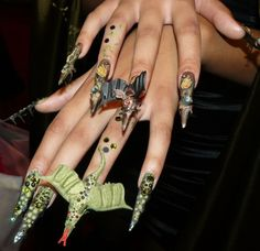 105 Best Competition Nails Images On Pinterest Nail Art Nailed It