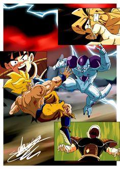 4 Goku Vs Freezer Saga by ChibiDamZ