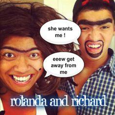 Alex and Roi Wassabi!!! bahahaha so freaking hilarious