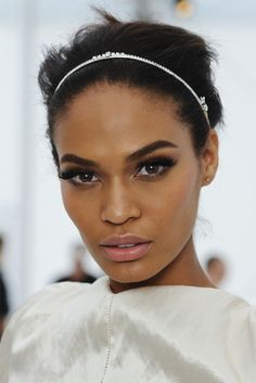 """Joan Smalls has been called """"the perfect face,"""" thanks, at least in part, to her strong brows."""