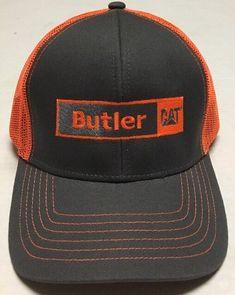 a9f79284d42 Butler CAT Hat Caterpillar Machinery Heavy Equipment Cap Fargo North Dakota  ND  OC  BaseballCap