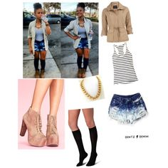 India Westbrook inspired outfit, created by xdopestarx on Polyvore